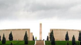 National Armed Forces Memorial at Alrewas