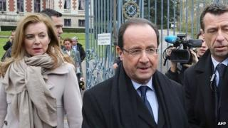 President Hollande visiting Tulle, 6 Apr 13