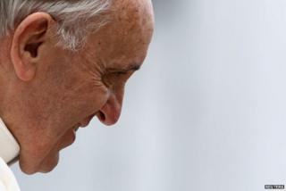 Pope Francis, photographed on 7 April, 2013