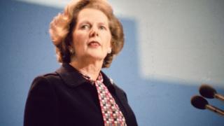 Margaret Thatcher 1985