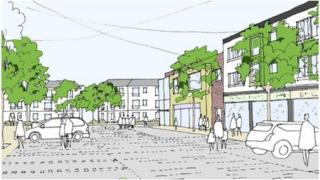 Plans for the redevelopment of the Maelfa shopping centre