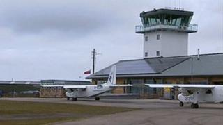 Land's End Airport new terminal