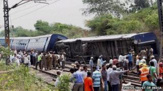 Train derailment on 10 April 2013