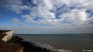 Coast near Eastbourne