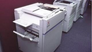 Photocopying machines
