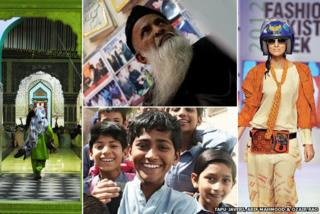 Images of people in Pakistan