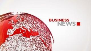 BBC business news logo