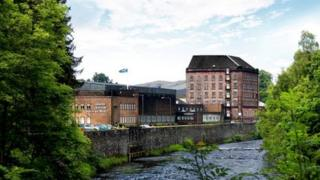 Deanston distillery near Doune