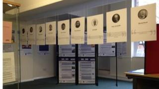 The exhibition at the LGBT Centre.