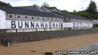Taigh-staile Bunnahabhain