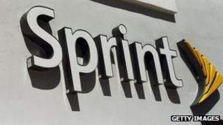 A Sprint Nextel cell phone store in Miami, Florida
