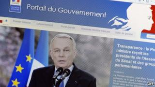 French government website
