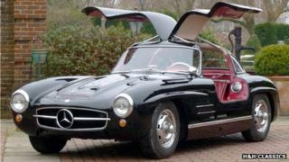 "1955 Mercedes Benz 300SL ""Gullwing"""