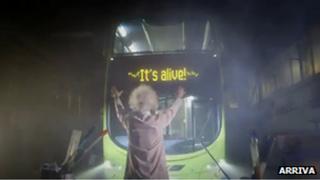 Arriva hybrid, electric bus