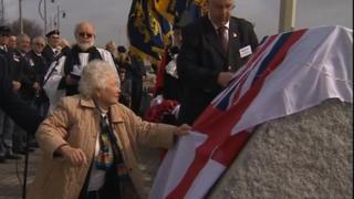 Mary Henry unveils monument