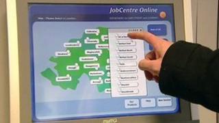 job centre screen