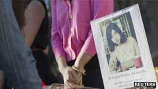 Chinese student Lu Lingzi, who died in Monday's bomb attack in Boston