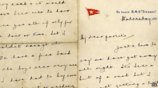 Wallace Hartley's letter