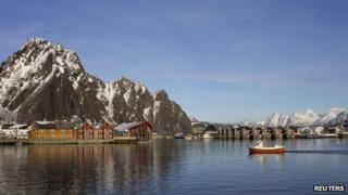 Svolvaer, Lofoten Islands, Norway - file pic