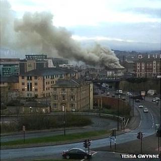 Sheffield city centre fire