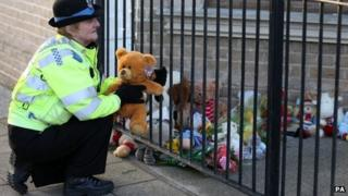 The bodies three young children were found in London Road South, Lowestoft