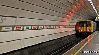 Liverpool Lime Street underground station