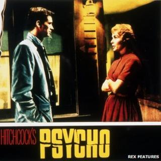 Anthony Perkins and Janet Leigh in Psycho