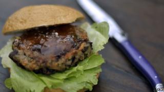 kidney bean burger