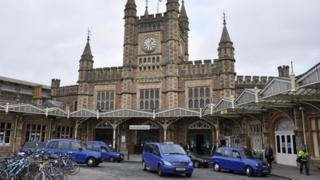 Taxis at Temple Meads