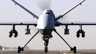 A Reaper drone