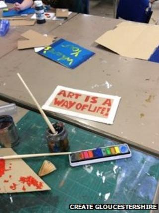 placard-making