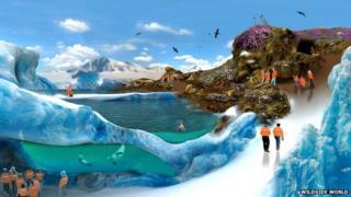 Artist's impression of the Polar zone