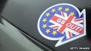 UKIP car sticker, 23 Mar 13