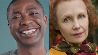 Youssou N'Dour and Kaija Saariaho. Copyright Veronique Rolland and Priska Ketterer Luzern