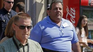 Chris Christie in July 2012