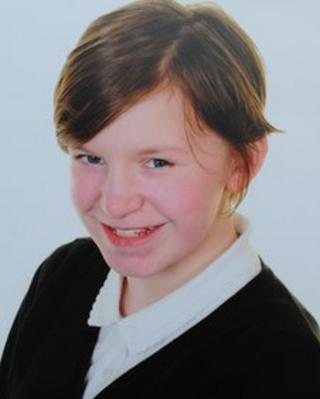 Ruby Dench was in her final year at Whiteabbey Primary