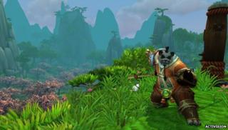 Screenshot from Mists of Pandaria