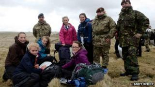 One team on the moor