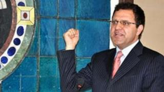 Afghan Finance Minister Omar Zakhilwal
