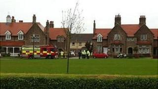 Fire at Victoria Cottage Homes in St Saviour, Jersey
