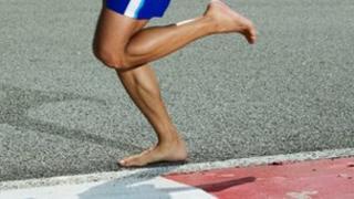 Bare foot running