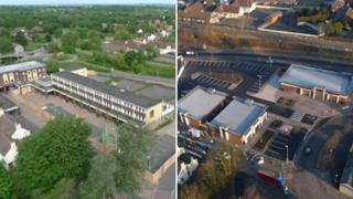 Before and after Hadley regeneration