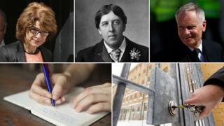 Vicky Pryce; Oscar Wilde; Jeffrey Archer; handwriting; prison lock