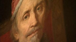 Portrait of Pope Clement IX Carlo Marrata. Oil on canvas, 123x170 cm, Italy, 1669.