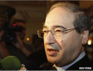 Syrian Deputy Foreign Minister Faisal Mekdad in Damascus (file image)