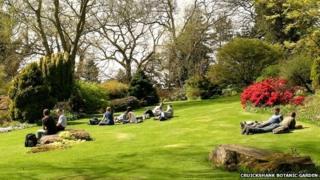 Cruickshank Botanic Garden