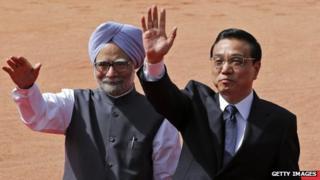 PM Manmohan Singh with his Chinese counterpart Li Keqiang