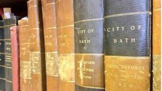 Bath archives