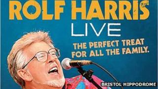 Rolf Harris Live poster