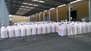 Ammonium nitrate store